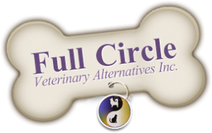 logo of full circle veterinary alternatives inc in dartmouth nova scotia